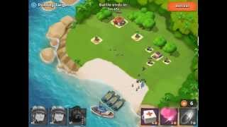 Boom Beach Level Walkthrough - Priority Target (Two Machine Guns)