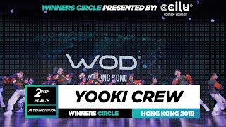 Yooki Crew  2nd Place Jr  Winners Circle  World of Dance Hong Kong Qualifier 2019  #WODHK19