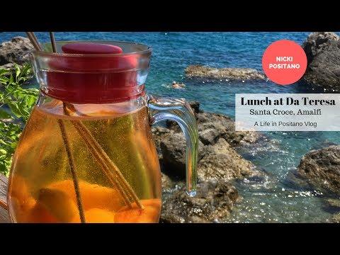 A Day At Santa Croce Beach - Lunch At Da Teresa