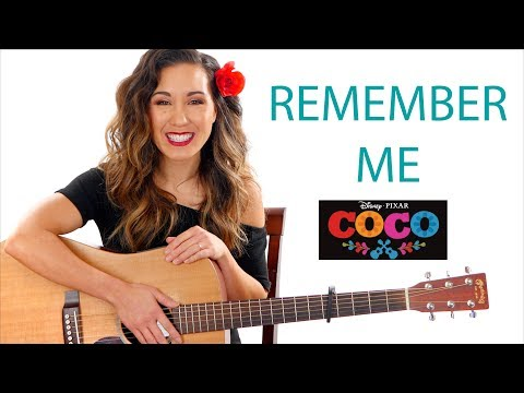 Remember Me - Pixar's Coco - Guitar Tutorial and Play Along
