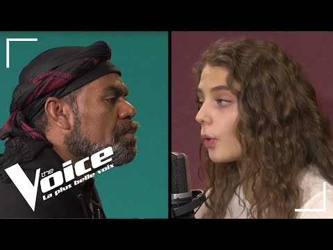 Johnny Hallyday - Je te promets | Maëlle vs Gulaan | The Voice France 2018 | La Vox des Talents