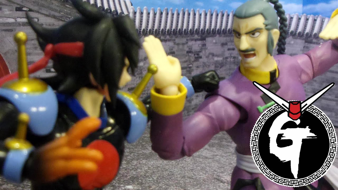 Mobile fighter g gundam master asia vs domon stop motion for Domon vs master asia