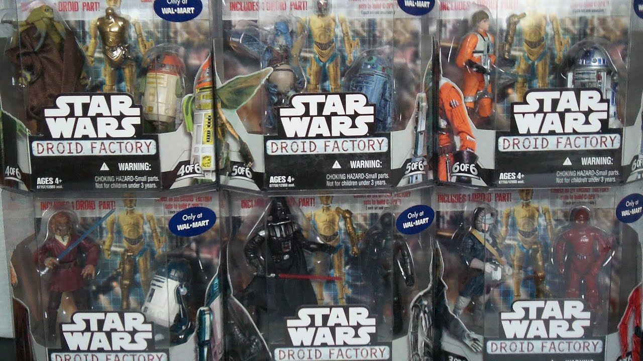 Star Wars Toys Walmart : Star wars droid factory walmart exclusive pk action