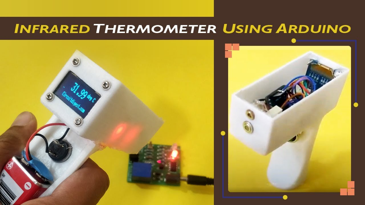 Infrared Thermometer Using Arduino And Ir Temperature