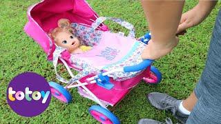 Baby Alive minha Boneca Sara Perdida na Cidade Grande!!! Totoykids Em Portugues