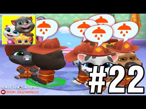 my-talking-tom-friends-2020-|-gameplay-walkthrough:-part-22---team-firefighter-(ios,-android)