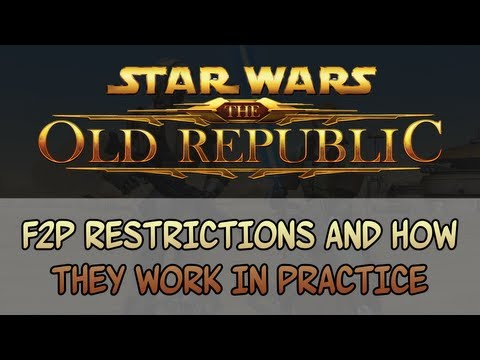 SWTOR F2P restrictions and how they work in practice (HD 108