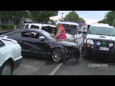 Crash Chaos | 9 News Adelaide