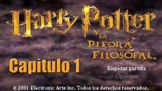 Harry potter y la piedra filosofal PS1 , [Gameplay completo] Capitulo 1 El vestibulo