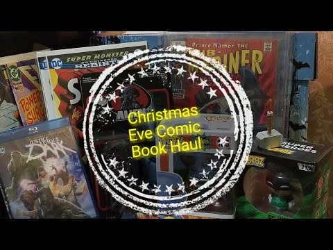 Comic book Haul 12/24/2018