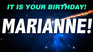 HAPPY BIRTHDAY MARIANNE! This is your gift.