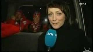 blow job gestures on live tv