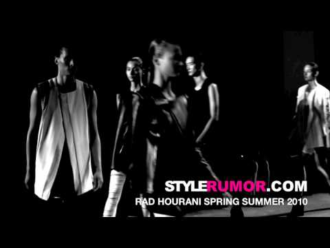 Rad Hourani Spring Summer 2010 Collection Stylerumor.com