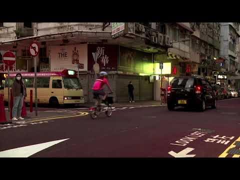 Hong Kong to lockdown thousands