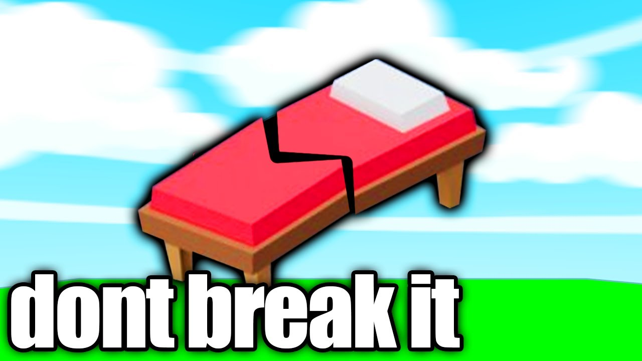 If my Bed breaks, the video ends.. (Roblox Bedwars)