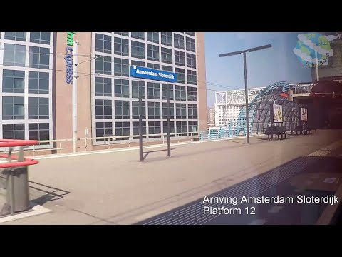 Schiphol Airport to Amsterdam Centraal Train Journey Aboard NS Sprinter