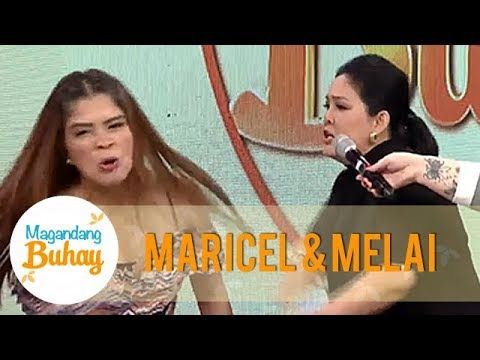Magandang Buhay: Melai Is Proud To Have Been Slapped By Maricel Soriano!