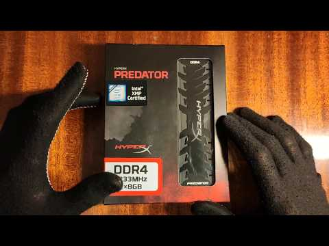 Оперативная память HyperX DDR4-3333 16384MB PC4-26664 (Kit of 2x8192) Predator Black (HX433C16PB3K2/16)