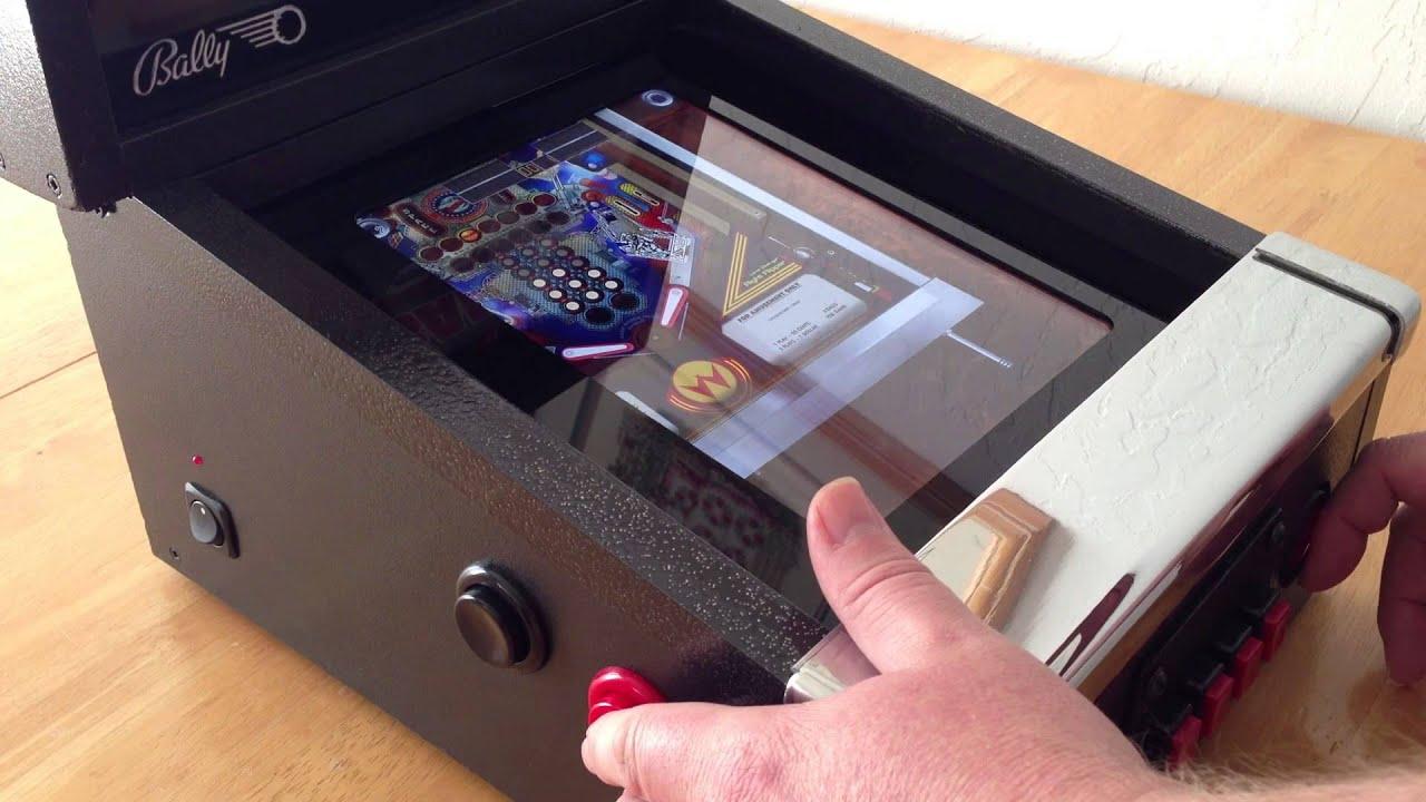 iCade Mini Cabinet demo playing The Pinball Arcade - YouTube
