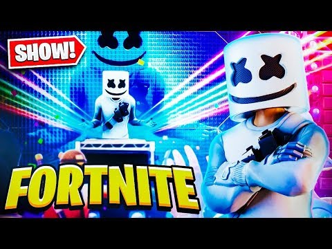 SHOW DO MARSHMELLO COMPLETO NO FORTNITE! EVENTO AO VIVO! thumbnail