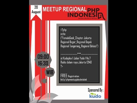 Meetup PHP Indonesia Regional Jabodetabek - Startup Developer Engine