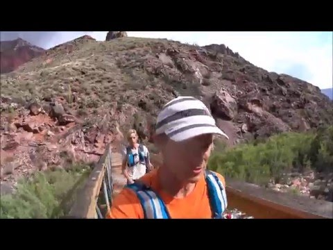 Wild Times on the R2R2R Rim to Rim to Rim Grand Canyon Run -