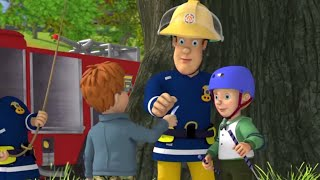 Strażak Sam Zostań przy wspinaniu się na drzewo!  Nowe odcinki  Kreskówki dla dzieci