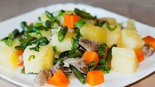 Как Вкусно Приготовить Куриные ЖЕЛУДОЧКИ с Картошкой 🐔 Куриные Желудки ✧ Ирина Кукинг