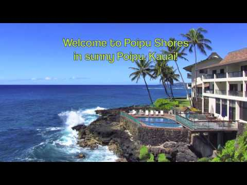 Gorgeous Kauai Direct Oceanfront Luxury Vacation Rental at Poipu Shores #103A