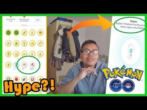 2000€ für ALLE Medaillen & 2xLevel 40?! Gen 3 Hype ist real - Hoenn Region Medaille! Pokemon Go!
