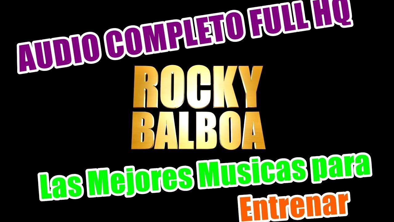 canciones para entrenar rocky