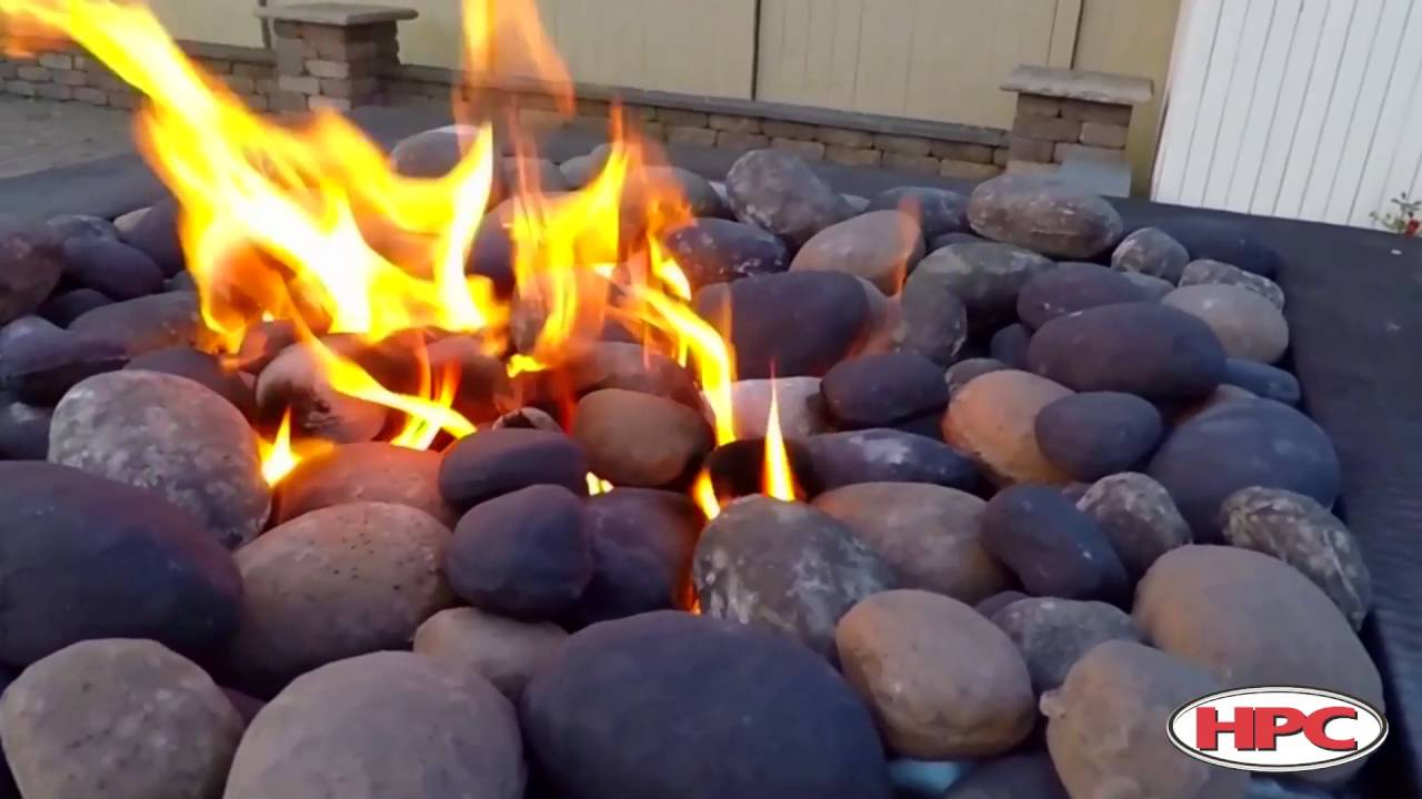 9 Ideas That Ll Convince You To Add A Fire Pit To Your: Can I Use River Rock In A Fire Pit