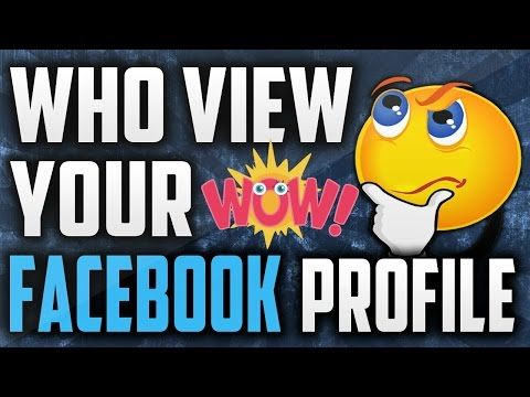 How To See Who Views Your Facebook Profile For Friends & Non Friends 2017/2018