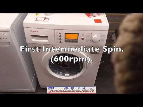 British Heart Foundation -  Bosch Exxcel WVD24520GB Washer Dryer