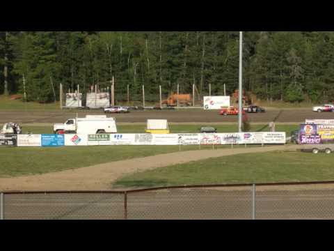 Part of Pure Stocks Heat Race May 19, 2016 Grand Rapids Speedway