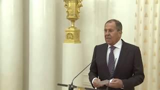 С.Лавров на выставке по истории российско-китайского взаимодействия, Москва, 30 сентября, 2019 года