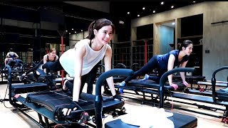 Lagree Workout with Janella Salvador ♥️ | Erich Gonzales