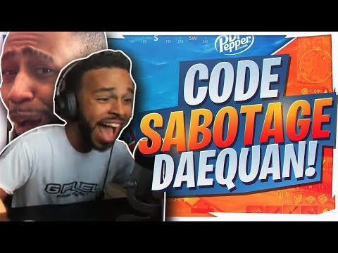 I TEAMKILLED DAEQUAN?! FUNNIEST DUO WIN (Fortnite BR Full Game)