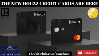 The All New Houzz Credit Card & Master Card Is Here & With Rewards - Financial Education 2019