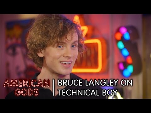 What's the Deal with Technical Boy? Bruce Langley Explains All | American Gods