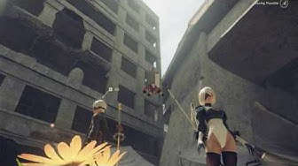 2b reacts to my lewd attempt to ss her ass