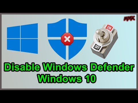 Disable Windows Defender On Windows 10 - Turn Off Antivirus