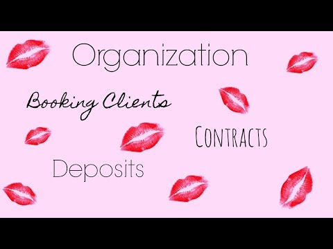 Freelance MUA | Orgnization, Booking Clients, Contracts, Deposits