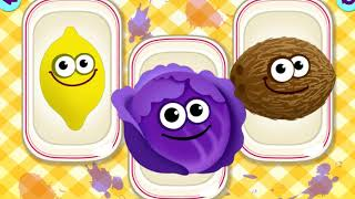 FUNNY AND FROZEN FRUITS  KIDS GAMES