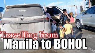 Travelling from MANILA to BOHOL by LAND l FORTUNER maaasahan talaga sa LONGDRIVE l 2,200Kms