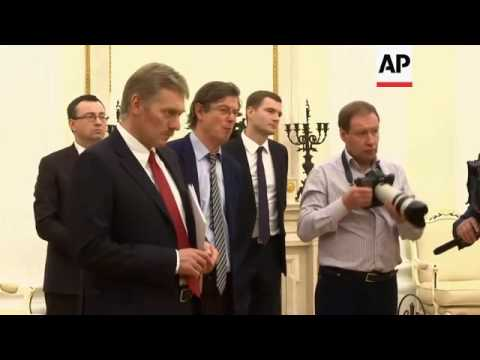 Putin meets Council of Europe chief in Moscow