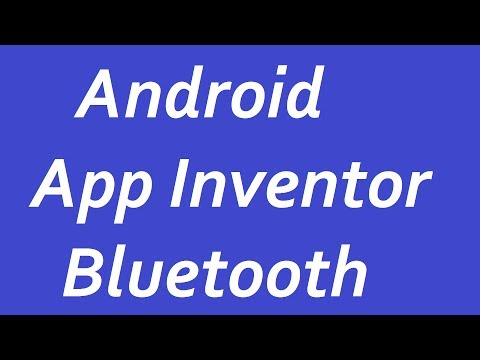 ANDROID App Inventor Bluetooth Arduino по РУССКИЙ пишим приложение для ANDROID BluetoothClient