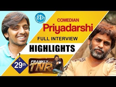 Comedian Priyadarshi Interview Highlights | Frankly With TNR #29 | Talking Movies With iDream