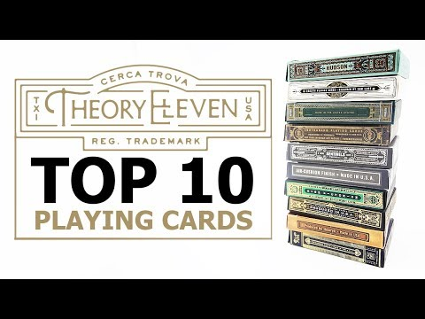 Top 10 Decks From Theory 11 [2019]
