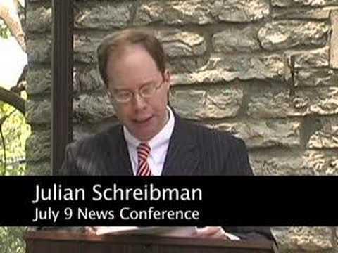 Schreibman News Conference